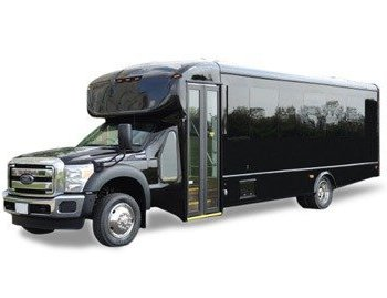 Black Party Bus Rental in Raleigh NC