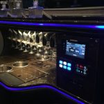 Sprinter limo bar interior 3