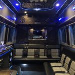 Sprinter Limo Party Bus Interior