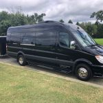 Sprinter Limo with Luggage Trailer