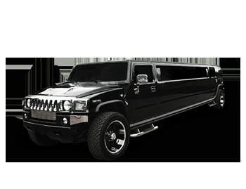black hummer h2 limo