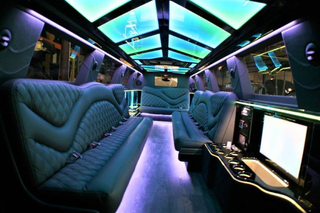 Stretch SUV Limo - Yukon Denali Interior | Lifestyle Limo in Raleigh NC