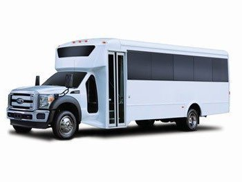 White Party Bus in Raleigh NC | Lifestyle-Limousine