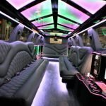 Yukon Denali Stretch Limo SUV Interior Lights | Lifestyle Limo in Raleigh NC