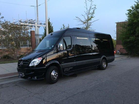 Mercedes Sprinter Executive Shuttle Rental   Raleigh NC   Lifestyle Limousine