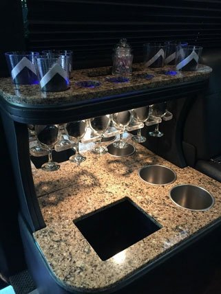 Mercedes Sprinter Limo Bar