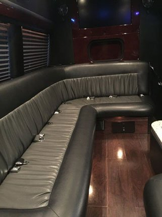 Mercedes Sprinter Limo Van Interior2