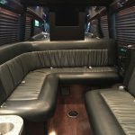 Mercedes Sprinter Limo Van Interior