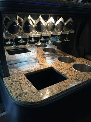 Mercedes Sprinter Limo Bar 2