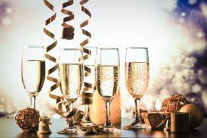 NYE Champagne Toast | Lifestyle Limousine