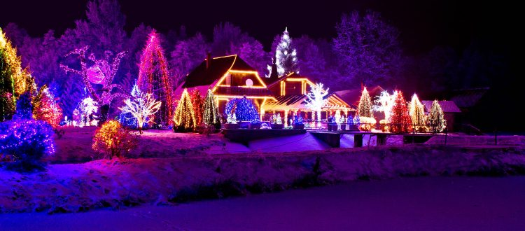 Holiday Lights Tour in Raleigh NC | Lifestyle Limousine