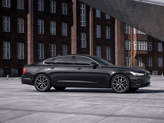 Black Car Service Volvo s90 luxury Sedan