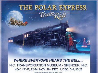 The Polar Express Train Ride   Spencer NC