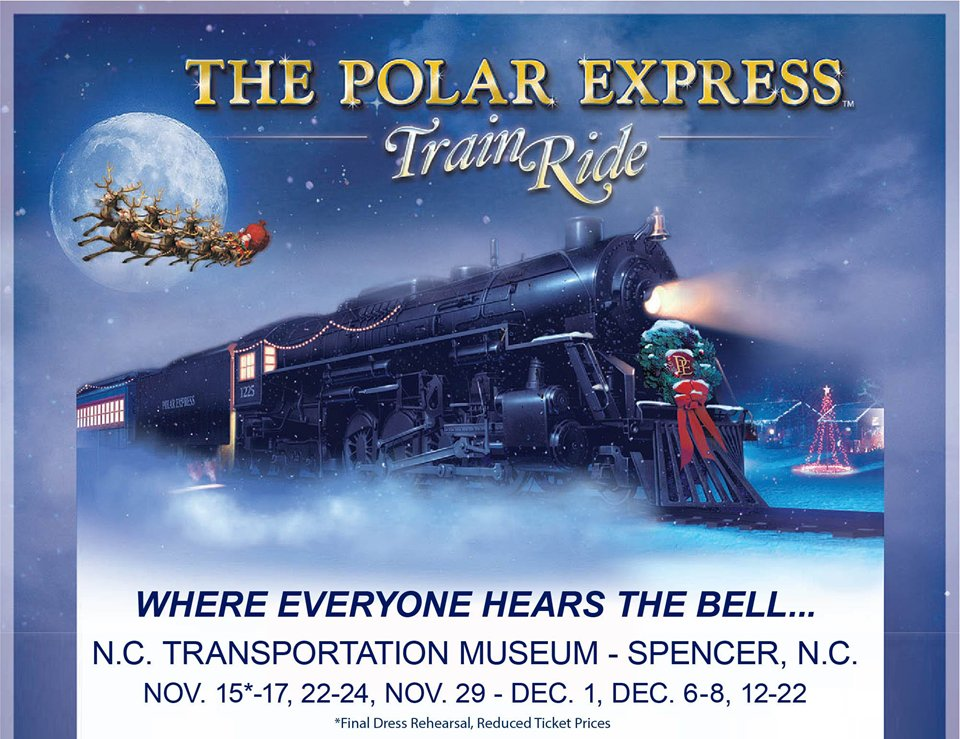 The Polar Express Train Ride | Spencer NC