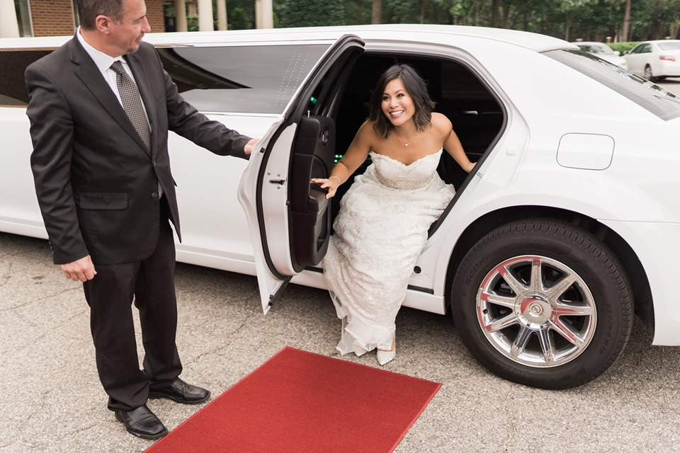 Wedding Limo in Raleigh