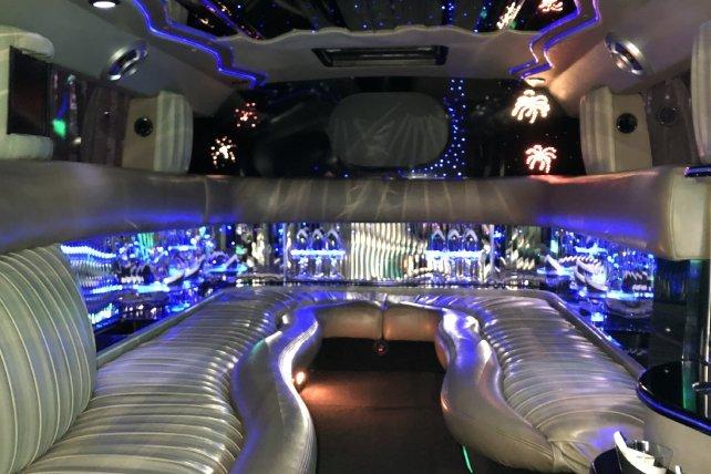 Hummer Limo Interior 2 | Lifestyle Limo | Raleigh