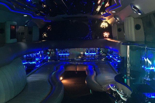 Hummer Limo Interior | Lifestyle Limo | Raleigh